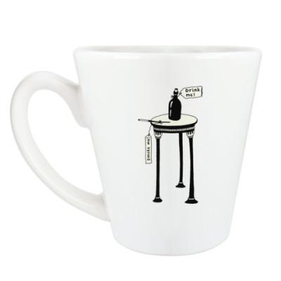 Чашка Латте 'Алиса'