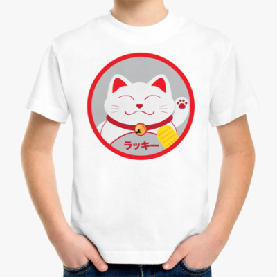 Детская футболка Lucky Cat