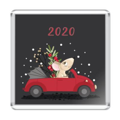 Магнит Год крысы мыши 2020