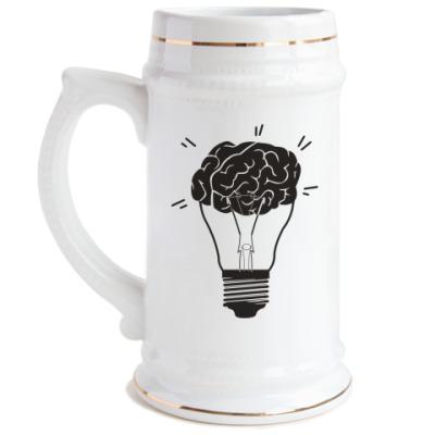 Пивная кружка  Лампочка