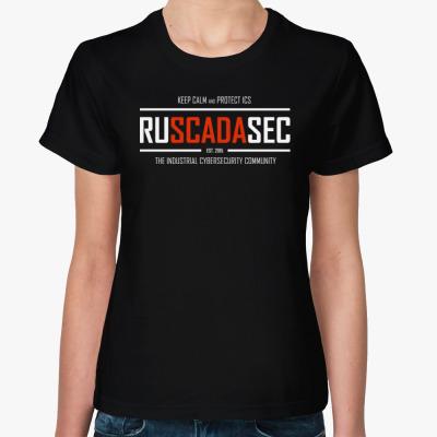 Женская футболка Женская футболка RUSCADASEC, v.2