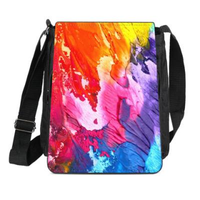 Сумка-планшет Яркие краски