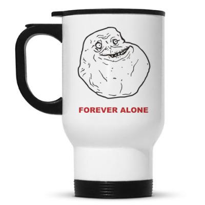 Кружка-термос Forever alone
