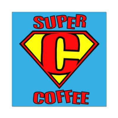 Наклейка (стикер)   Super coffee