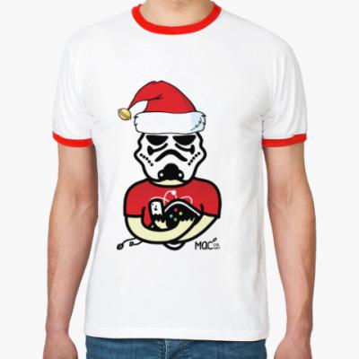 Футболка Ringer-T Маков.Нет: Christmass Edition