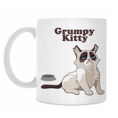 Кружка Grumpy Kitty