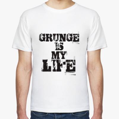 Футболка Grunge is my life