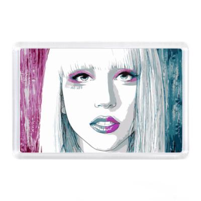 Магнит  Леди Гага