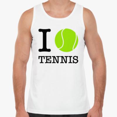 Майка I love tennis