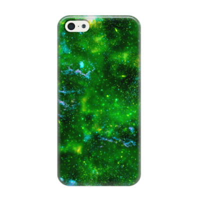 Чехол для iPhone 5/5s Кислотный космос
