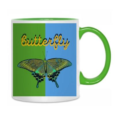 Бабочка Парусник - Махаон