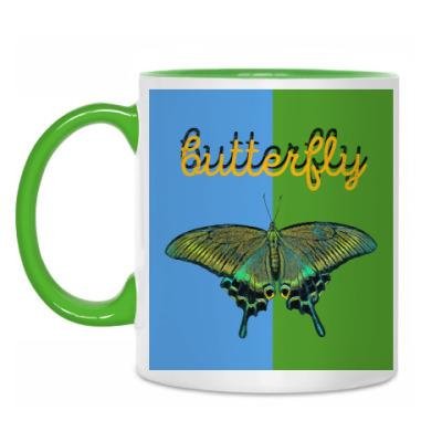 Кружка Бабочка Парусник - Махаон