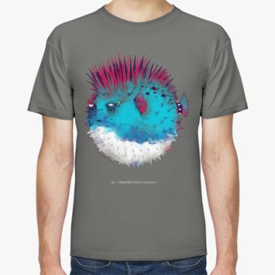 Футболка Брутальная рыба панк Punk fish