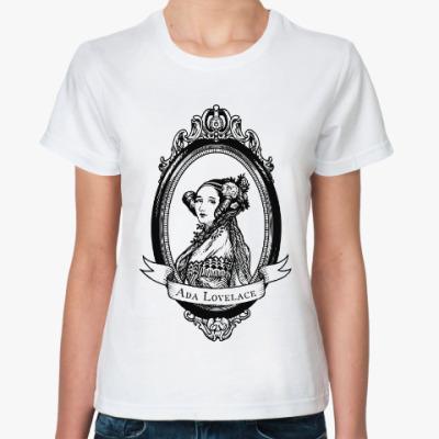 Классическая футболка Ада Лавлейс