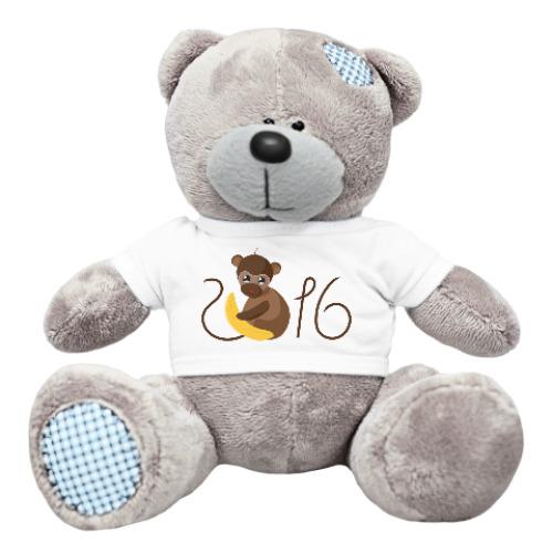 Плюшевый мишка Тедди Обезьянка Биззи 2016