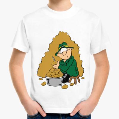Детская футболка Защитник
