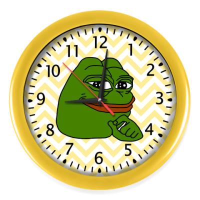 Настенные часы Лягушонок Пепе