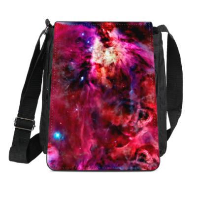 Сумка-планшет Космический взрыв