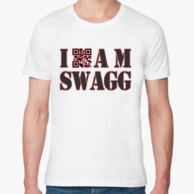 Футболка из органик-хлопка I AM SWAGG