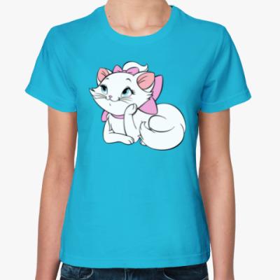 Женская футболка Dreaming Kitty