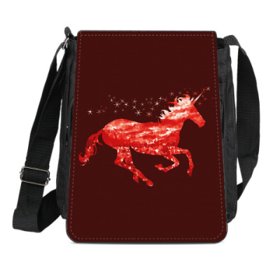 Сумка-планшет Рубиновый Единорог