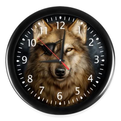 Настенные часы ВОЛКИ