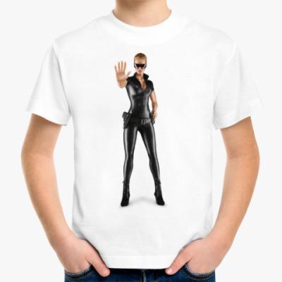 Детская футболка Девушка в форме