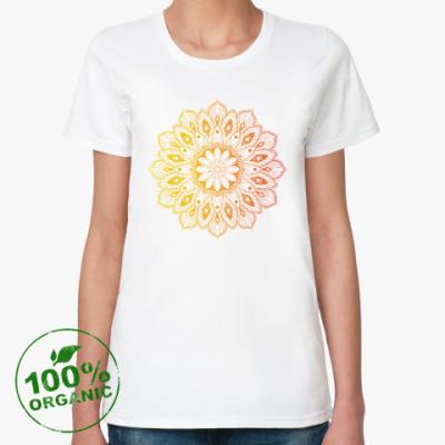 Женская футболка из органик-хлопка Узор, паттерн