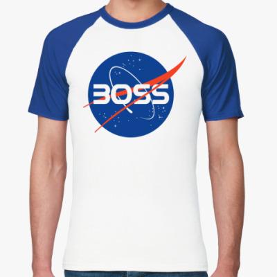 Футболка реглан NASA BOSS