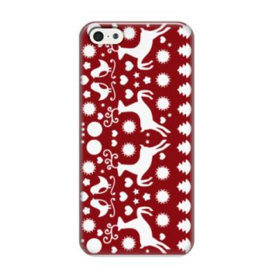 Чехол для iPhone 5/5s Новый год!