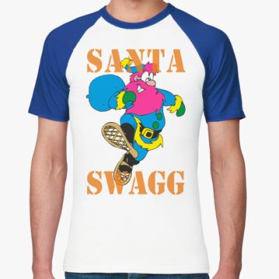 Футболка реглан SANTA SWAGG