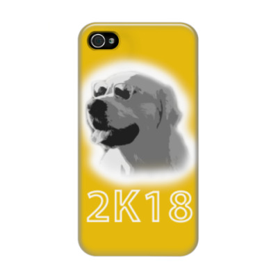 Чехол для iPhone 4/4s Год собаки