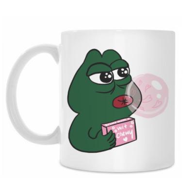 Кружка Bubble Pepe