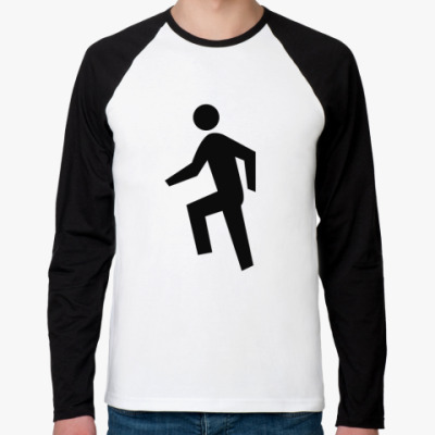Футболка реглан с длинным рукавом Human