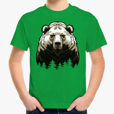 Детская футболка Суровый Медведь