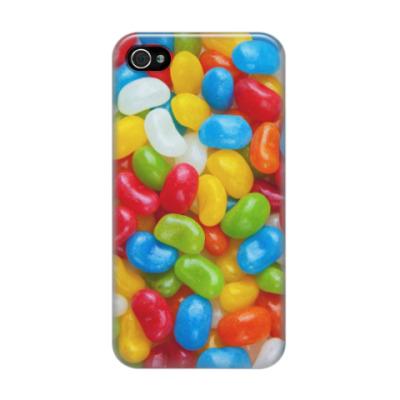 Чехол для iPhone 4/4s Леденцы