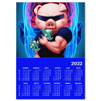 Календарь IRON PIG