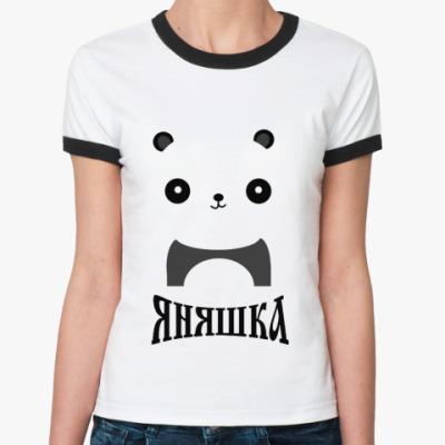 Женская футболка Ringer-T Я няшка