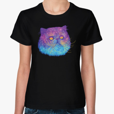 Женская футболка SPACE CAT