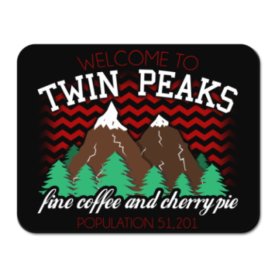 Коврик для мыши Сериал Твин Пикс Twin Peaks