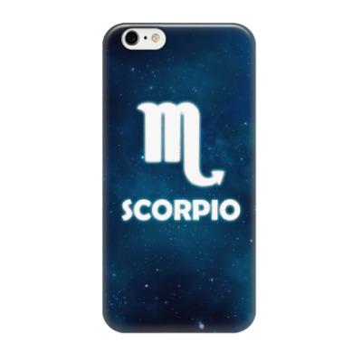 Чехол для iPhone 6/6s Знак зодиака. Скорпион