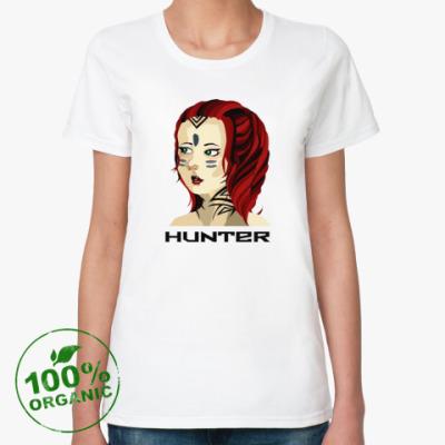 Женская футболка из органик-хлопка Hunter