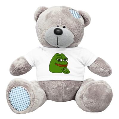 Плюшевый мишка Тедди Лягушонок Пепе