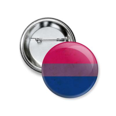 Значок 37мм Bisexual