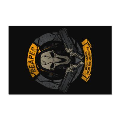 Наклейка (стикер) Overwatch Reaper Gabriel Reyes