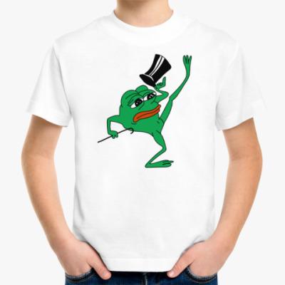 Детская футболка Пепе Джентльмен