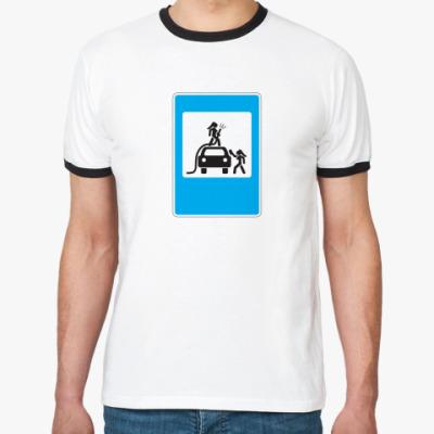 Футболка Ringer-T автомойка