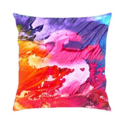 Подушка Яркие краски