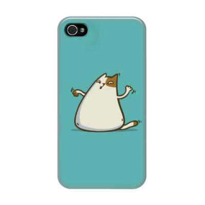 Чехол для iPhone 4/4s  Пятничный Котик №20