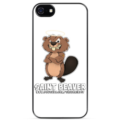 "Чехол для iPhone Чехол iPhone 5/5s""St. Beaver"""